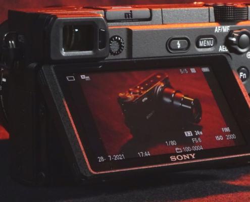 Sony A6400 Klapp-Display