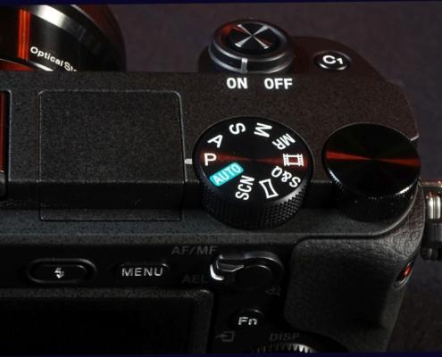 PASM Sony A6400