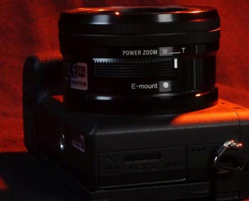 Sony A6400 Power Zoom