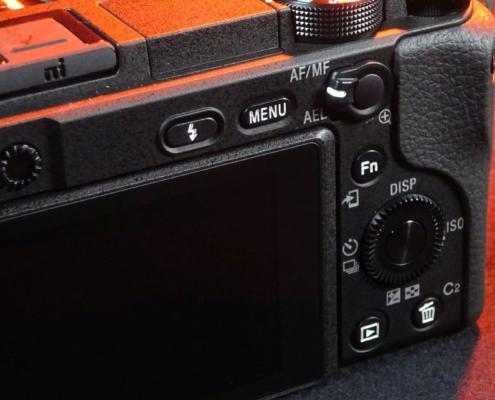 Sony A6400 Schalter