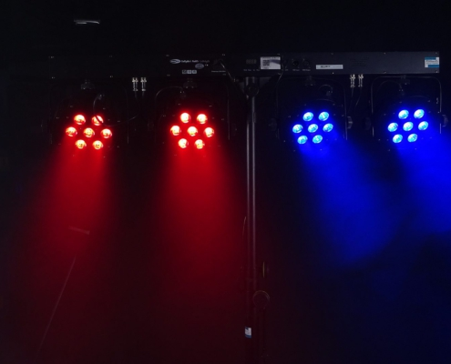 LED Lichtanlage 7x3W