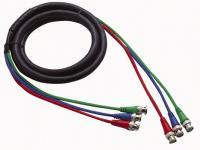 3 BNC Stecker auf 3 BNC Stecker  Professional Kabel 3m