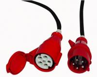 Extension Cable, 3x 16A 380V