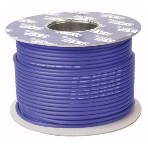 DAP DIG-110 AES-EBU 110 Ohm Digital Kabel Blau, 100m Rolle