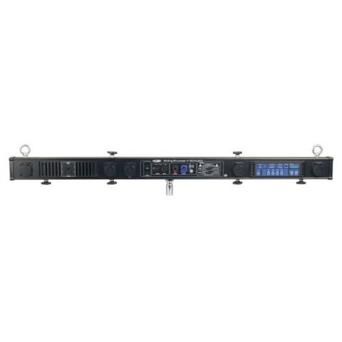Showtec Sliding Show Bar 4 Powercon® T-bar Schuko with 4 channel dimpack