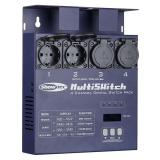 Showtec MultiSwitch 4 Kanal  DMX Switchpack Output 4x5A