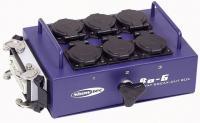 Showtec BO-6-S1 Splitbox mit 6 Schuko und  1 x 16 Pol Hartin