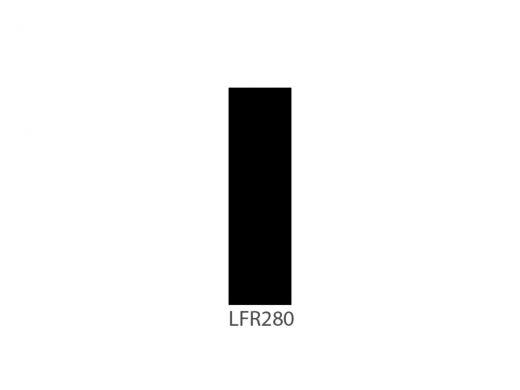 LEE Filter Nr. 280, Role 762-60cm, Black Foil ( Black Wrap )