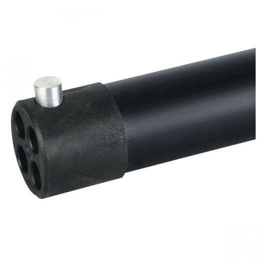 WENTEX FIXED UPRIGHT Pipe & Drape 120(h)cm, Schwarz (pulverbeschichtet)