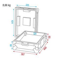 Showgear Case for Pioneer/Technics mixer Case für Pioneer/Technics Mische