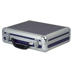 DAP Flightcase Mikrofon Case für 7 Mikros, blau
