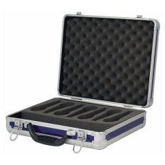 Showgear Case for 7 Microphones Schwarz
