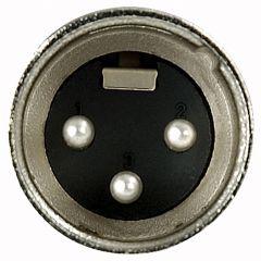 DAP N-CON XLR Stecker 3 Pol nickel Male