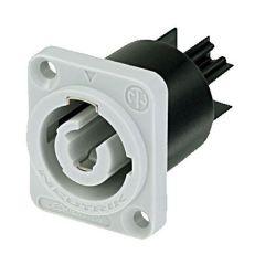 Neutrik Powercon Einbaudose Output (Grau) NAC-3MPB