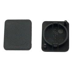 Blindkappe für D Öffnung (XLR/Speakon)