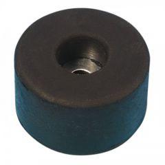 Gummifuss 38 x 20mm mit Stahlscheibe