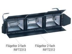 Flügeltor 3-flügelig Riviera (oben/unten/1xseitlich)