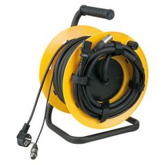 DAP-Audio Kabeltrommel   mit  15m Audio Power/Signal cable