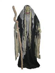 EUROPALMS Halloween Figur Hellxunar Höllenfürst mit Licht-, Sound-, und Bewegungseffekten