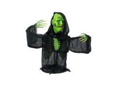 EUROPALMS Halloween Halbierter Zombie 73cm Zombie-Oberkörper mit LED-Lichteffek