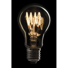 Showtec LED Filament Bulb E27 4W, Dimmable, Gold glass cover