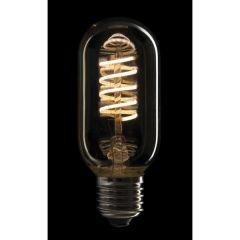 Showtec LED Filament Bulb E27 5W, Dimmable, Gold glass cover