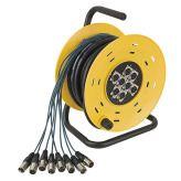 DAP-Audio Python 8 Stagewheel 8x XLR, 16m. cable, 4,78 kg