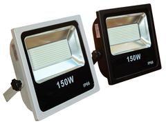Ultralite Messefluter LED 150W, 120°, 3000K, silber 15000lm, CRI82, TLCI70, 290 Lux bei ca. 5m, IP66