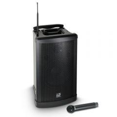 LD Systems Roadman 102 Mobiler PA Lautsprecher mit Handmikrofon