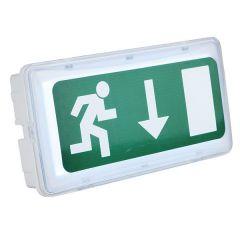 SHOWTEC SAFELED EMERGENCYLIGHT einschließlich 3 Schildern