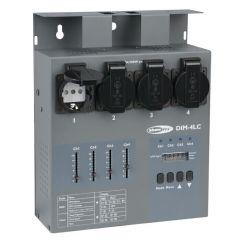 Showtec DIM-4LC Dimmerpack mit 4 Kanälen, 3 A pro Kanal und lokaler Steuerung