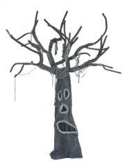 EUROPALMS Halloween Horrorbaum 160cm